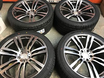 20 Quot Bm820 Staggered G M Alloy Wheels Amp Tyres To Fit Bmw X5