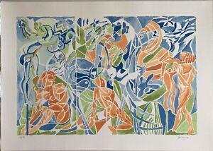Vittorio-Basaglia-litografia-a-colori-Personaggi-50x70-firmata-numerata-12-99