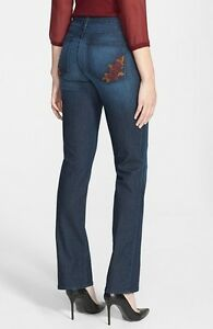 Marilyn Straight Ikke Leg Point Jeans 6 dine Broderet Nydj døtre 4 eller Dana Iqwaq0d