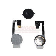 Für iPhone 4S Home Button Homebutton Taste Knopf mit Flexkabel Matte black