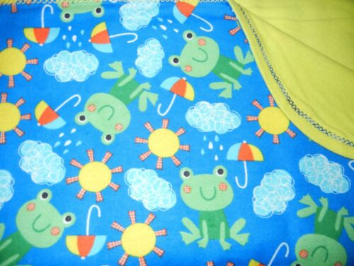 handmade double flannel baby//toddler blankets  gender neutral group 1