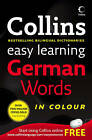 Easy Learning German Words (Collins Easy Learning German) by HarperCollins Publishers (Paperback, 2007)