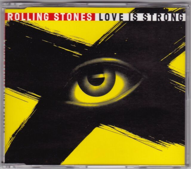 Rolling Stones - Love Is Strong - CD (6 x Track 1994 Virgin VSCDX1503)
