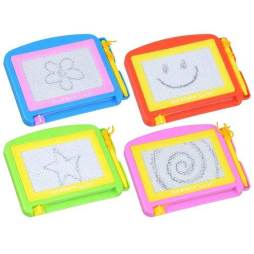 Mini Etch-A-Sketch Magnetic Doodle Drawing Board  3 color to choose from