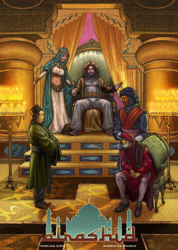 Al-Rashid - GAME GIOCO DA TAVOLO IN INGLESE, REGOLAUomoTO IN ITALIANO SCARICABILE