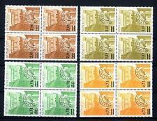 MONACO - Preann. - 1978 - Tipi dei francobolli del 1974 sovr. con nuovi valori