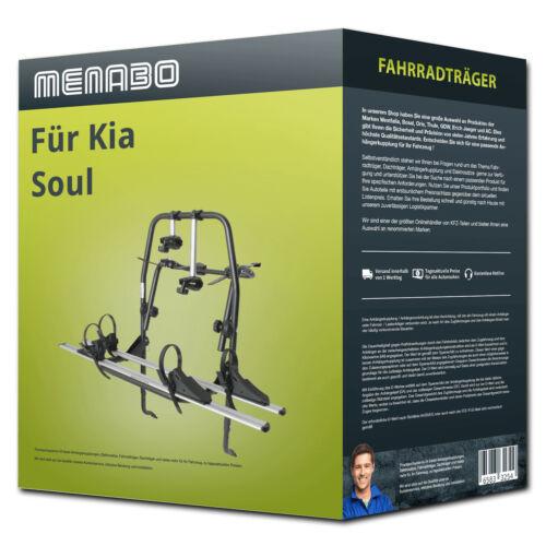 2 Fahrräder  NEU PKW Menabo Fahrradträger Polaris 2 für Kia Soul II Typ PS
