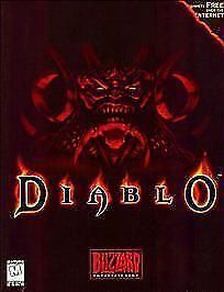 Computer Games - Diablo (PC, 1996) computer game