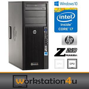 HP Z210 Gaming Workstation PC ♻️ Intel Core i7 2600 3,8GHz ♻️ 32GB ram + 2TB SSD