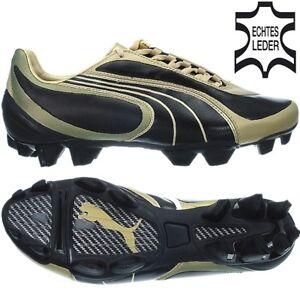 08 or cam cuir V3 soccer de noir I pour Chaussures Puma Fg hommes en ferme q8w68t