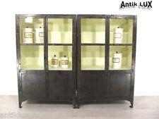 Industriedesign Vitrine Anrichte Loft Möbel Arztvitrine Schauvitrine Metall