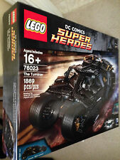 Lego The Tumbler (76023) New In Box - Sealed - Batman - Retired Set