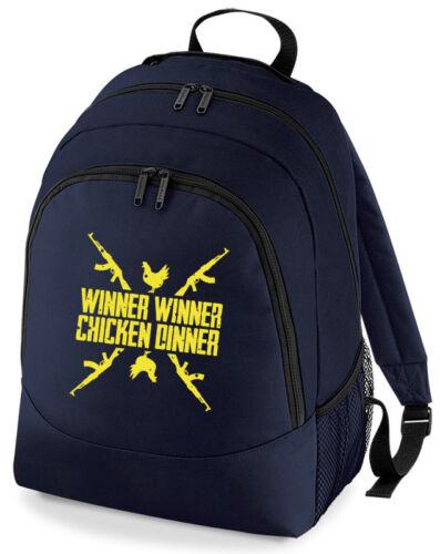 Player Unknown Battlefield PUBG Winner Winner Chicken Dinner Cross Rucksack B...