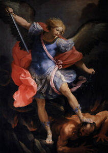 Guido-Reni-The-Archangel-Michael-Defeating-Satan-Fine-Art-Print-Poster
