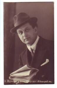 Rusia-M-N-Karakash-Opera-Singer-Director-Vocal-Maestro-Vintage-Foto-Pzas-131