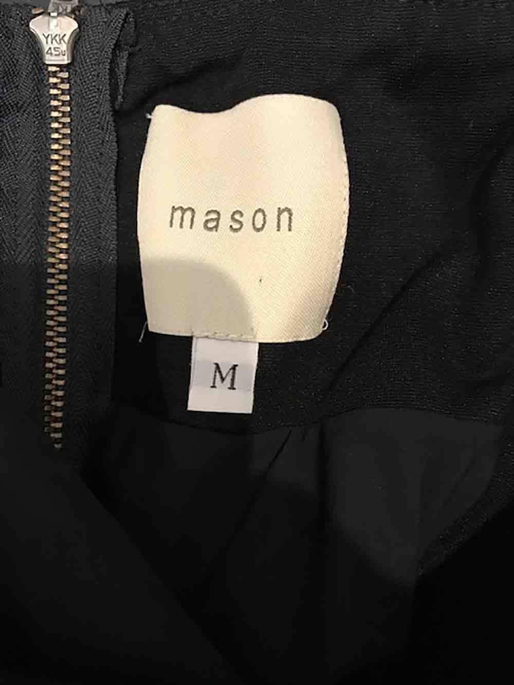 Designer MASON Size Medium Strapless Bodycon Bodycon Bodycon Worn Once Women's Dress bddefc