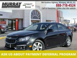 2015 Chevrolet Cruze LT 1.4L Turbo *Local Trade   RS Package   Sunroof*