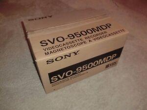 Sony SVO-9500MDP S-VHS Videorecorder, OVP&NEU, unbenutzt, 2 Jahre Garantie