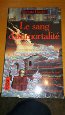 Barbara Hambly - Le sang d'immortalité - Pocket Terreur