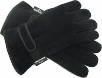 Mens Thermal Thinsulate Polar Fleece Gloves Ski Fishing Mororbike Size M/L L/XL