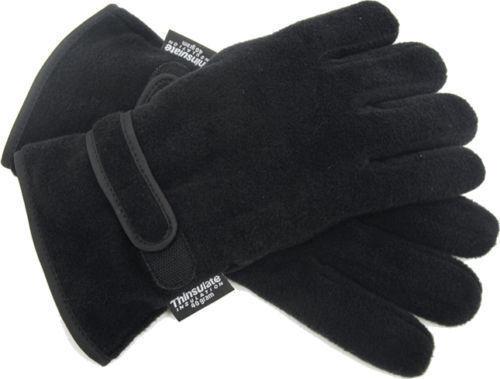 Mens Thermal Thinsulate Polar Fleece Gloves Ski Fishing Mororbike