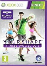 YOUR SHAPE FITNESS EVOLVED 2 2012 KINECT XBOX 360 EXCELLENT - 1st Class Delivery