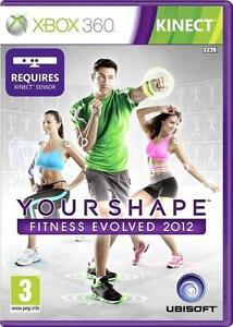 Your-Shape-Fitness-evoluta-2-2012-Kinect-XBOX-360-eccellente-1st-Class-consegna