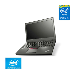 "Lenovo ThinkPad X250 Laptop 12.5"" HD Screen, Intel i5-5200U, 8GB RAM, 240GB SSD"