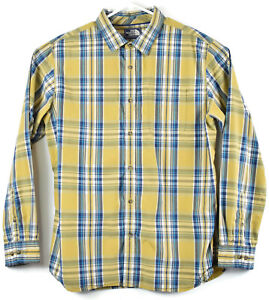 6079327f6 Details about The North Face Mens Long Sleeve Plaid Shirt XL