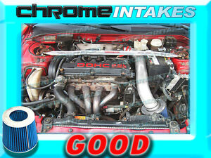 RED BLUE 95-99 MITSUBISHI ECLIPSE//EAGLE TALON 2.0L I4 NON-TURBO AIR INTAKE KIT
