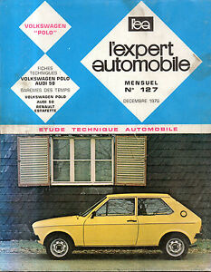 Rta Revue Technique Automobile N° 127 Volkswagen Polo