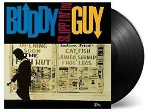 Buddy-Guy-Slippin-In-Used-Very-Good-Vinyl-LP-Holland-Import