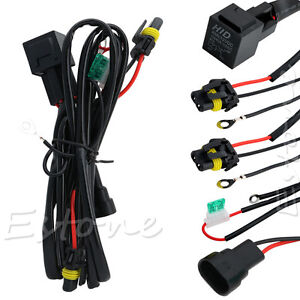 s l300 hid xenon relay wire conversion light wiring harness 9006 9005 h1 Electrical Harness Connectors at n-0.co