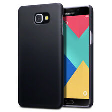 Samsung Galaxy A9 Case Genuine Hybrid TPU Rugged Flex Rubberised Bumper Black
