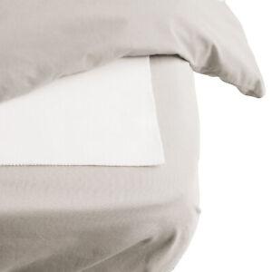 Hippychick - Flat Sheet Mattress Protector - Cotton - Breathable & Waterproof