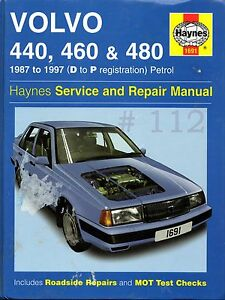 VOLVO-440-60-039-480-1987-to-1997-D-to-P-HAYNES-Owners-Workshop-Manual-2003