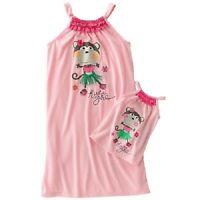 Girls & Dolls (american 18) Matching Nightgown 4-5
