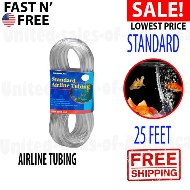 Penn Plax 25 ft Standard Airline Tubing#  ST25