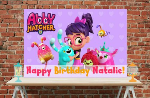 3x6 Abby Hatcher vinyl Birthday Banner