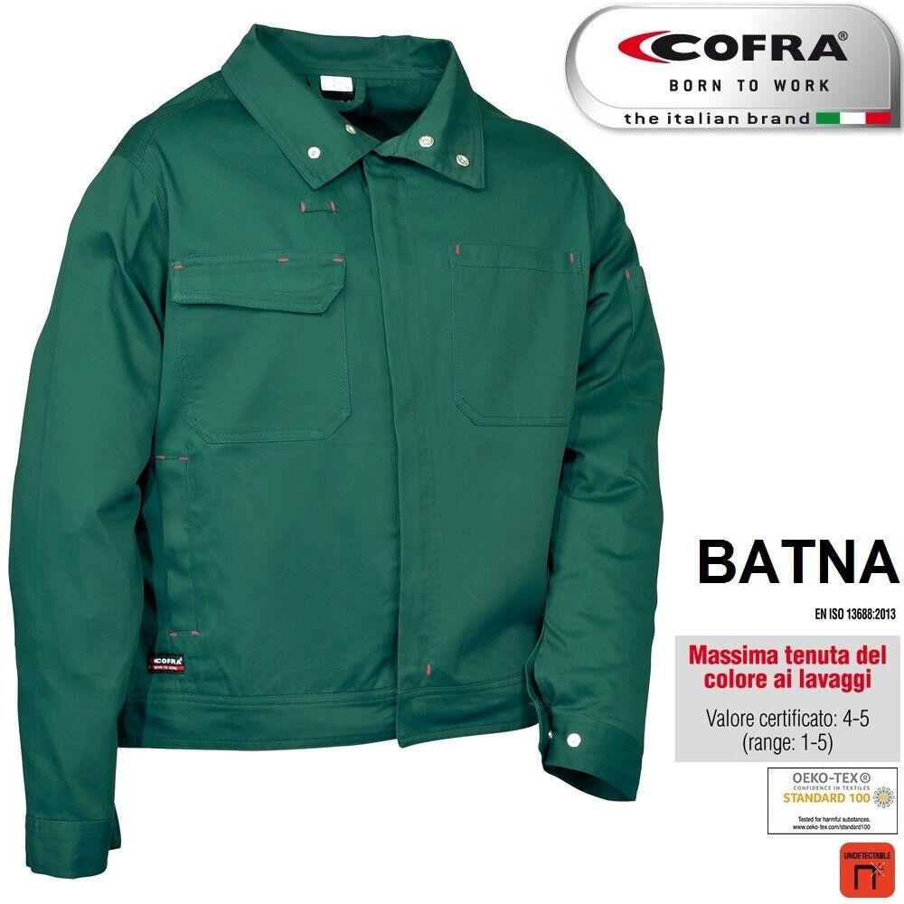 Immagine 7 - Giacca-da-lavoro-COFRA-modello-BATNA-100-cotone-300-g-m-edilizia-industria