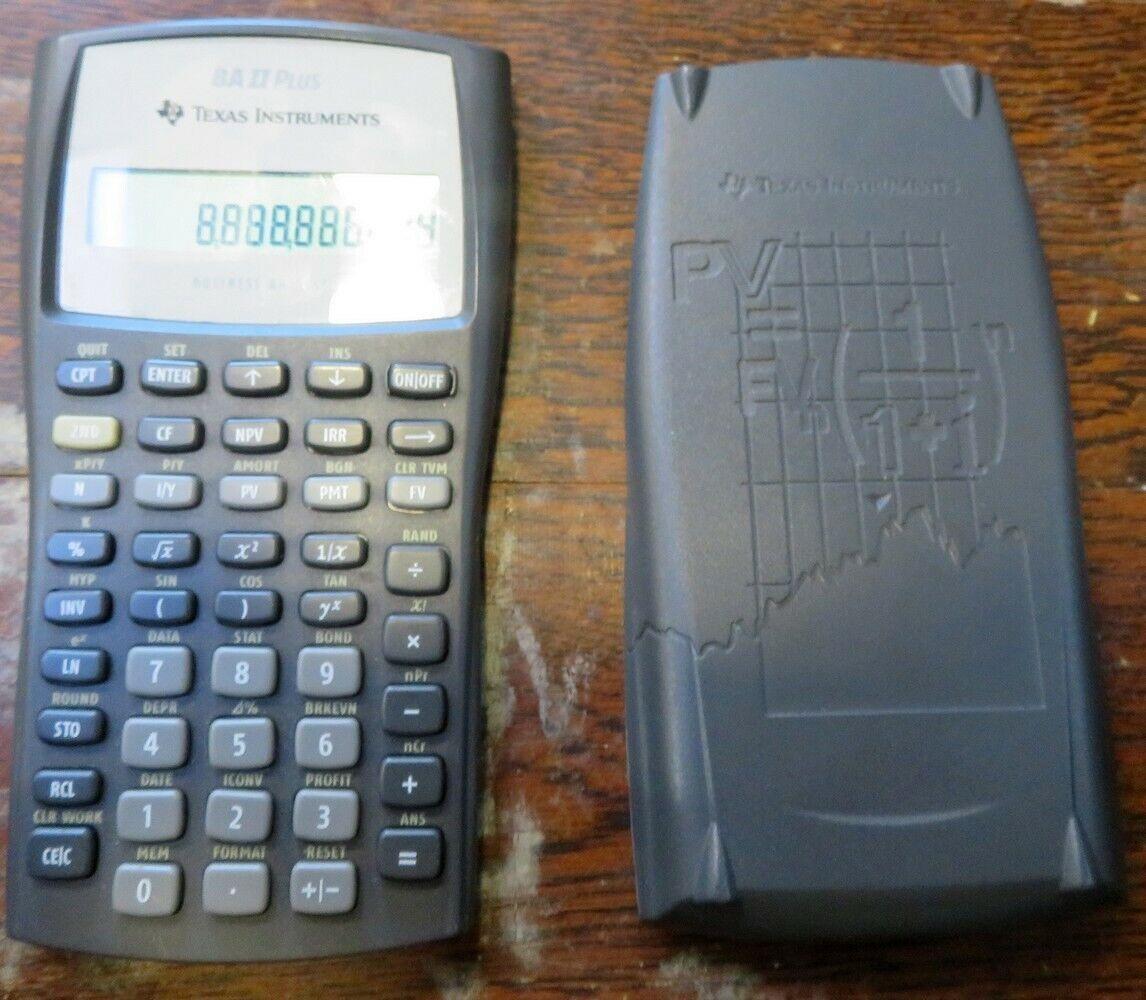 Texas Instruments TI BA II Plus Professional Financial Calculator 10 Character - LCD Renewed s Battery Powered IIBAPRO//CLM//4L1//A