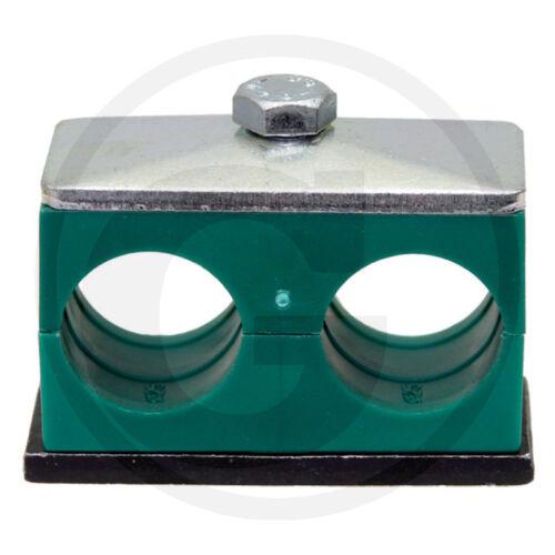 Doppio IDRAULICA-TUBO morsetto /_ 2x 28mm TUBO idraulica /_ TUBO STAFFA /_ RS IV D 28