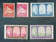ALGERIE 1927 Yv 82-85,79A ROULETTE ** (L2243