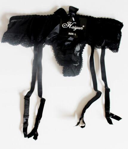 Suspender Belt Garter Holder suspenders girdles lingerie Garter Bow S-XL