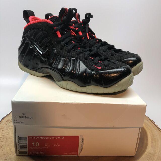 ef5106bbff0 Nike Air Foamposite Pro Solar Yeezy Black Carbon Size 10 Jordan XI Penny I  II IV
