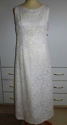 Zielstrebig Vintage 70er Kleid Bolero Lang Hochzeit Spachtelspitze 38 ? Spitze Hand Made Reisen