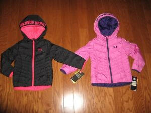 327fa8e342e1 Under Armour® Werewolf Puffer Winter Hoodie Coat GIRLS SIZE 2T 3T 4T ...