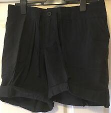 The North Face Women's Horizon Sunnyside Black Bermuda Shorts Uk 10 Us 6 BNWT
