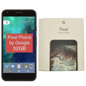 Nuevo-Y-En-Caja-5-034-Google-Pixel-2016-telefono-G-2PW4200-32GB-Negro-Desbloqueado-de-fabrica-4G