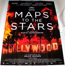 MAPS TO THE STARS David Cronenberg Julianne Moore Wasikowska LARGE French POSTER
